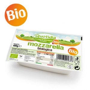 Mozzarella Biologica Quotidia 400gr