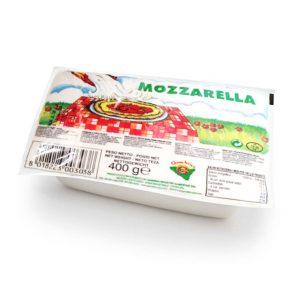 mozzarella panetto 400gr